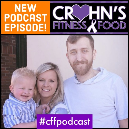 Podcast cover photo of Zach and Chelsie Leighter, The Unspoken Journey Crohn's Disease Warriors
